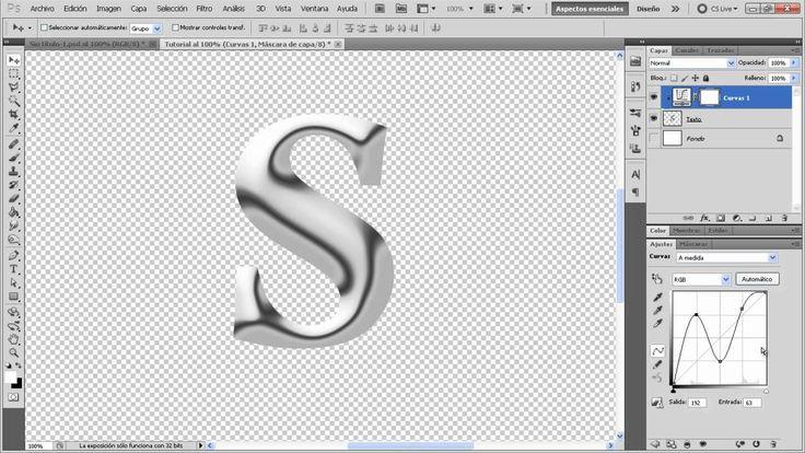 Tutorial Photoshop Texto Metal