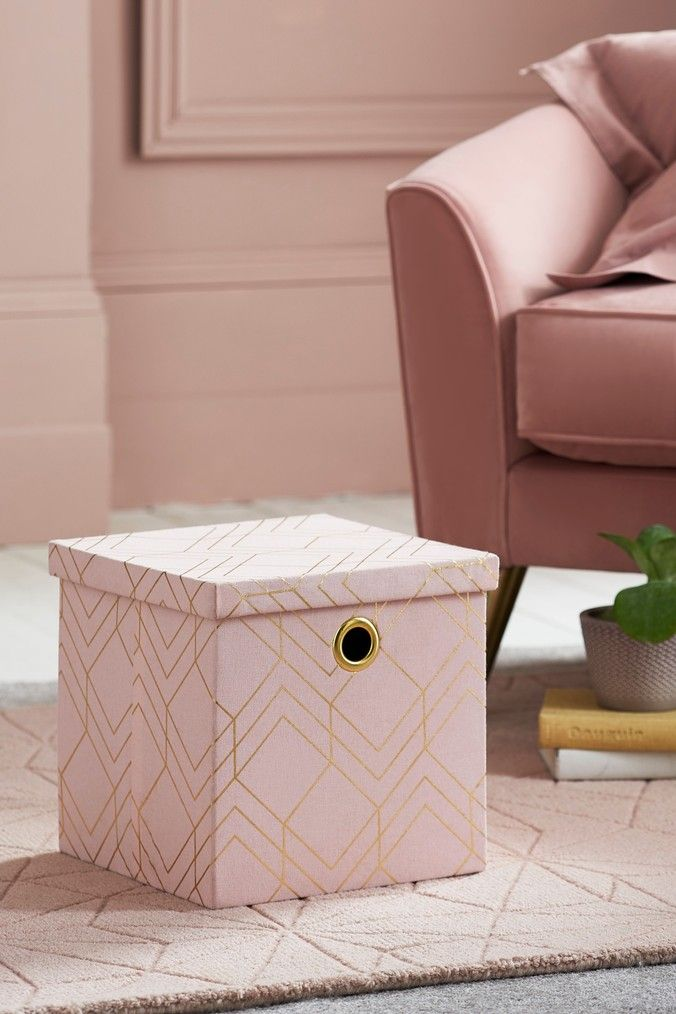 Geo Foldable Cube Collapsible Storage Cubes Decorative
