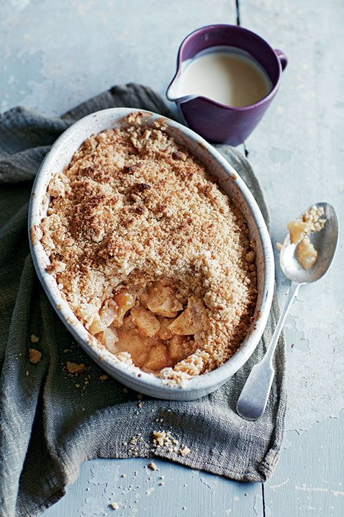 Prep Time: 15 Minutes | Baking Time: 45 MinutesServes4–6Comforting and delicious, once you've cracked this recipe – and it really is simple – why not mix it up with different fruits and spices?Try pear and ginger, apple and blackberry orrhubarb and vanilla.