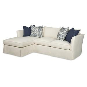Winona Transitional Two Piece Sectional Sofa with RAF Chaise by Sam Moore at Riverview Galleries  sc 1 st  Pinterest : sam moore sectionals - Sectionals, Sofas & Couches