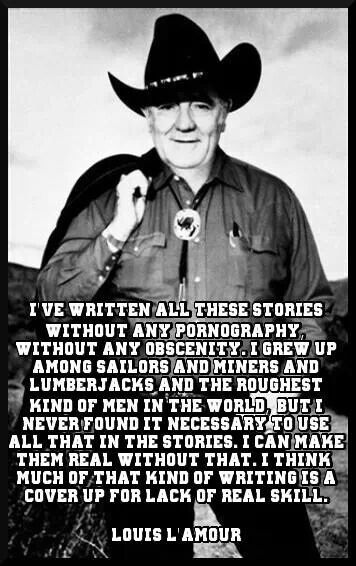 ... about Louis LAmour on Pinterest Writers, Quotes and Reading Books