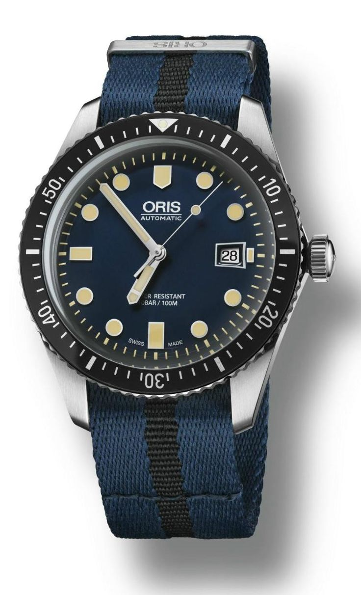 "#Horology - The brand new #Oris - #OrisWatches ""Sixty-Five Diver 42 Dark Blue"" #DiverWatch - #Watch May 2016 ---"