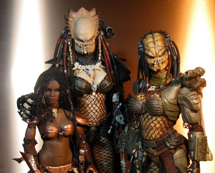 Predator girl in nuket picture think