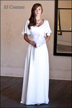 the mature bride dress