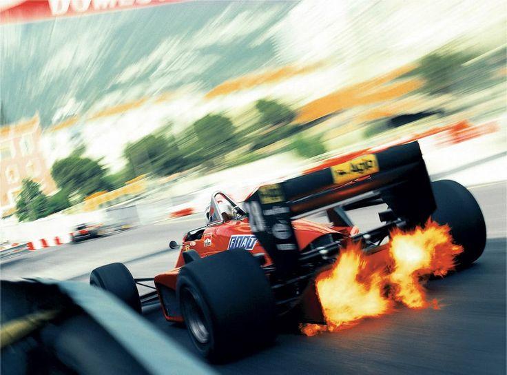 Automotivated: U201c The Greatest Formula 1 Photo. Stefan Johanssonu0027s Ferrari,  1985 Monaco Grand Prix. Photograph By Rainer Schlegelmilch.