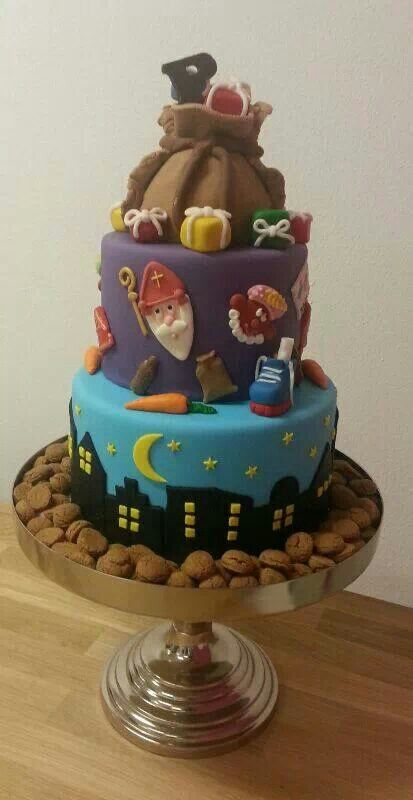 Dat wordt smullen met deze Sinterklaas taart!