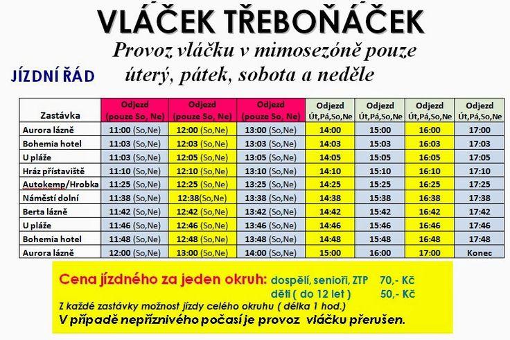 Třeboní jezdí Třeboňský vláček Třeboňáček | Ubytování Třeboň penzino U Draka s bazénem | levné ubytování v Třeboni