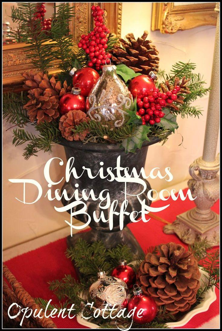 393 best christmas centerpiece/ arrangements images on pinterest