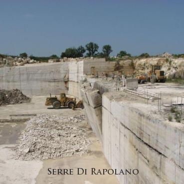 Travertine quarry at Serre Di Rapolano