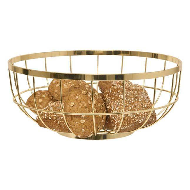 Open Grid Gold Bowl http://www.koop.co.nz