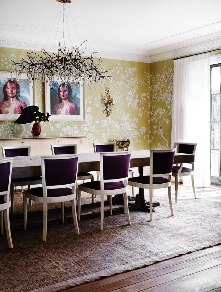 Formal dining room from Italianate Mansion in Sydney by Dylan Farrell Design. Photography: Prue Ruscoe | Styling: Karen Cotton | Story: Belle