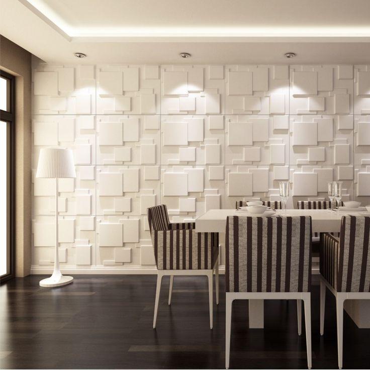 """Los Paneles de pared 3D """"Choc"""" son ideales para crear espacios modernos y originales. Puedes colocarlos en cualquier estancia incluido el baño o la cocina... http://3dcora.es/home/25-paneles-decorativos-3d-choc.html"""
