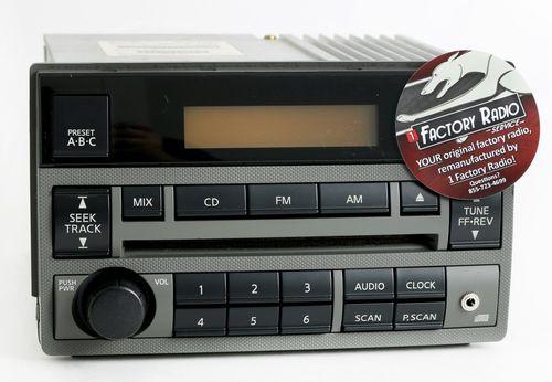 Remanufacture SERVICE for 2005-2006 Nissan Altima Radio w Aux Modification
