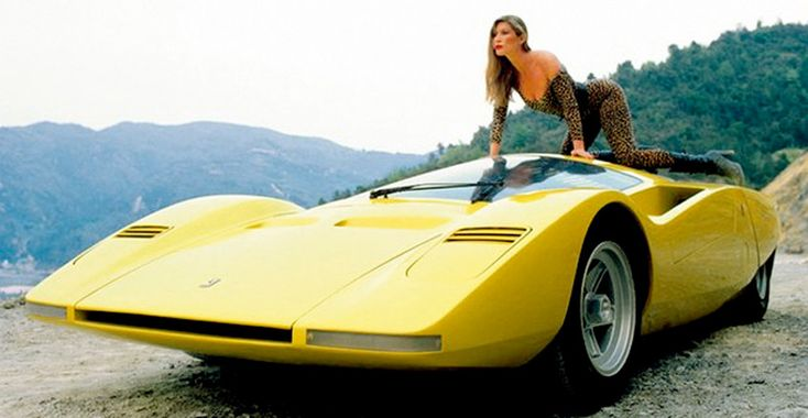 The 1969 Ferrari 512 S Berlinetta Speciale concept by Pininfarina helped transition Ferrari design from vintage brick-like shapes to a much more modern wedge style that still can be