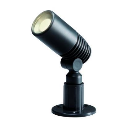 Reflektor led 2W Alder Plug-Play Reflektor kierunkowy ze źródłem światła w postaci Power led 2Watt. Wykonany z tworzywa koloru grafitowego.  System Plug-Play umożliwia połączenie całego szeregu lamp za pomocą wodoszczelnych przewodów i złączy , które można zakopać w ziemi ( zobacz plik do pobrania oraz produkty pasujące ) $24
