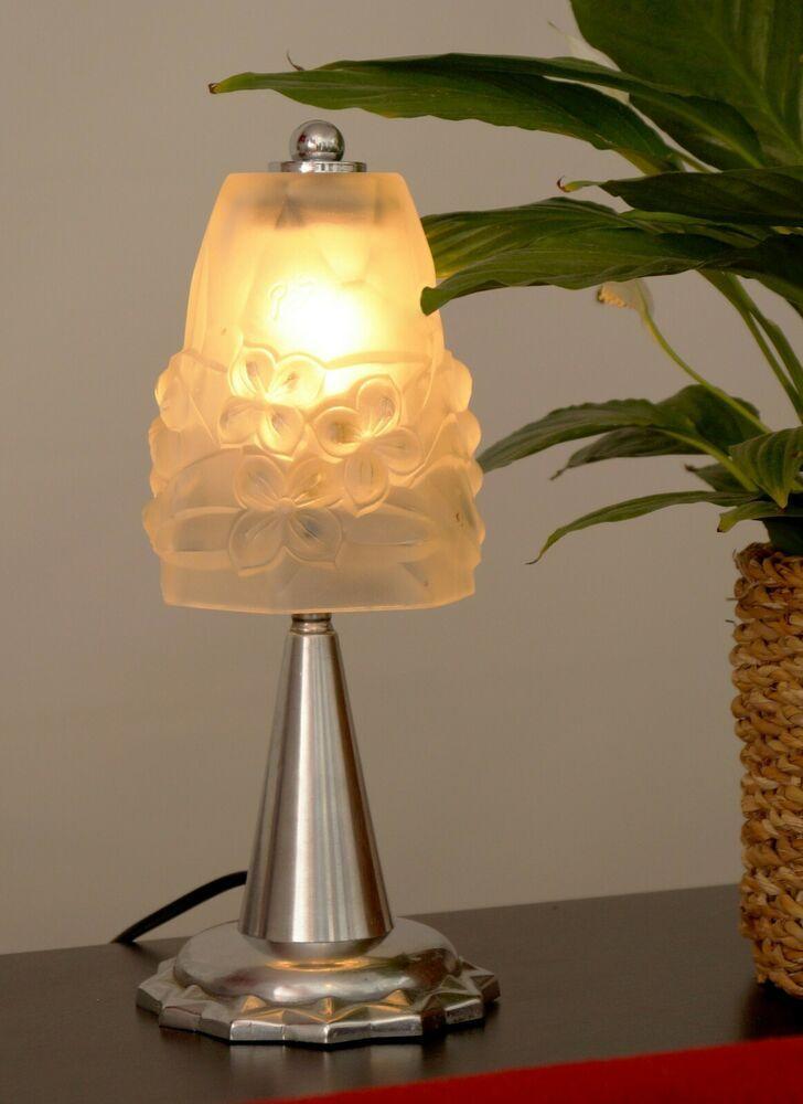 Details Zu Sehr Seltene Original Franzosische Art Deco Nachttisch Lampe Wandlampe 1920 Lampen Wandlampe Art Deco