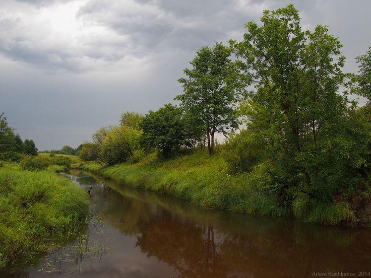 Река Суворощь после дождя - Красивые летние фотографии
