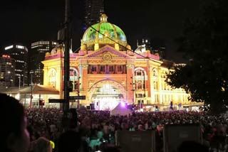 White Night dawns on Melbourne