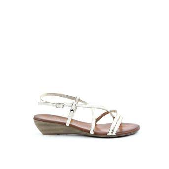 Piure witte sandalen