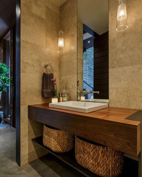 Modern, zevkli ve elit bir banyo dekorasyonu  #dekorasyon #banyo
