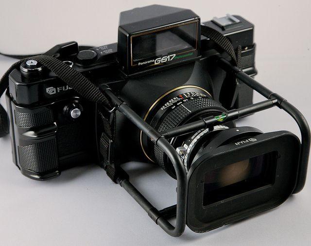 Fuji G617 Professional 6x17 120 Panoramic Camera with 105mm f8 Fujinon lens