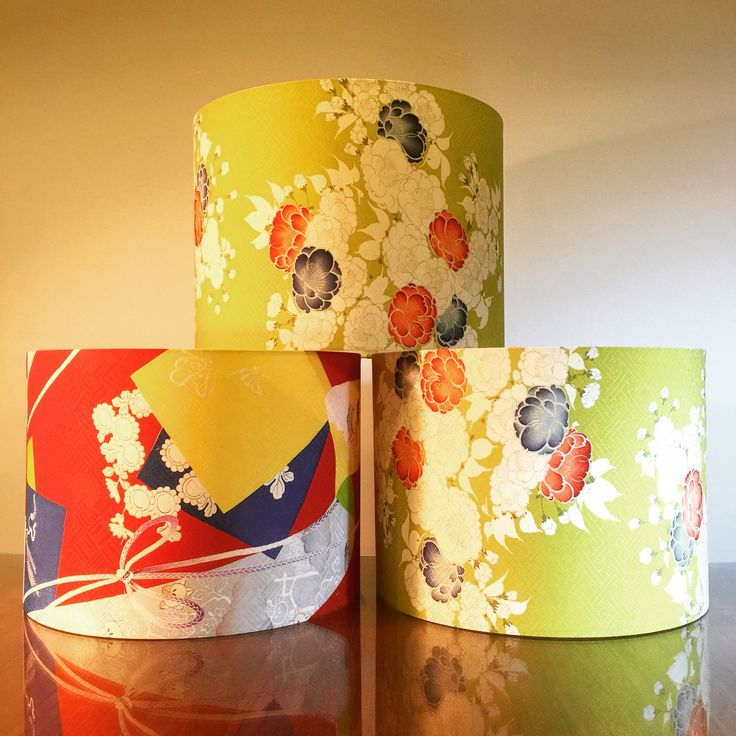 Brighten up your day with a colourful custom lampshade. We did these vintage Japanese fabric shades for local business @yoshijonesstore Check out their store in Newtown for beautiful vintage clothing and homewares. #lampshades #lampshade #customlampshades #lighting #decor #homedecor #design #interiordesign #textiles #handmade #australianmade #custom #yoshijones #newtown #vintage #redfern #grahamandgraham