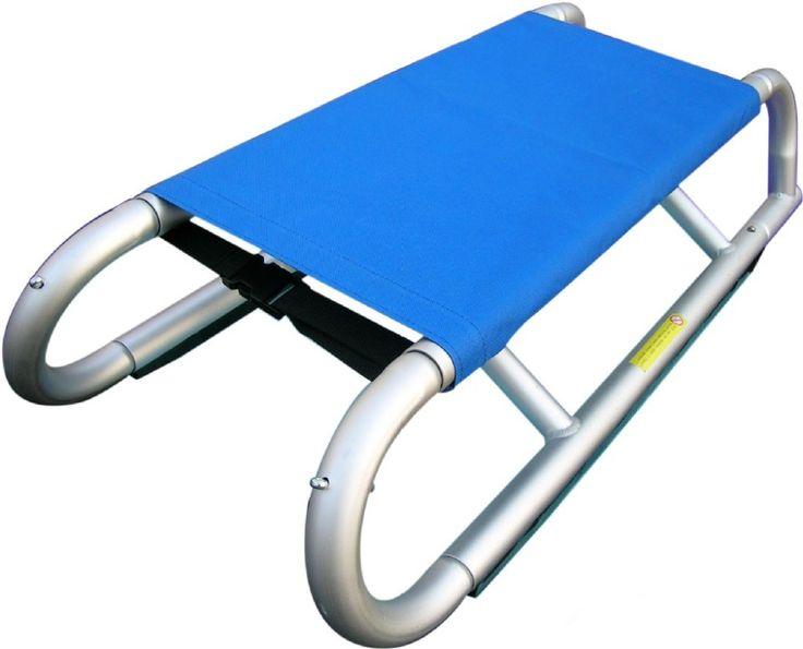 HAGIBIS Ontwerp Inklapbare Aluminium Sledge Volwassen sleigh voor sneeuw XQ22