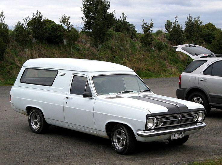 Holden HR Panelvan 1966-1968