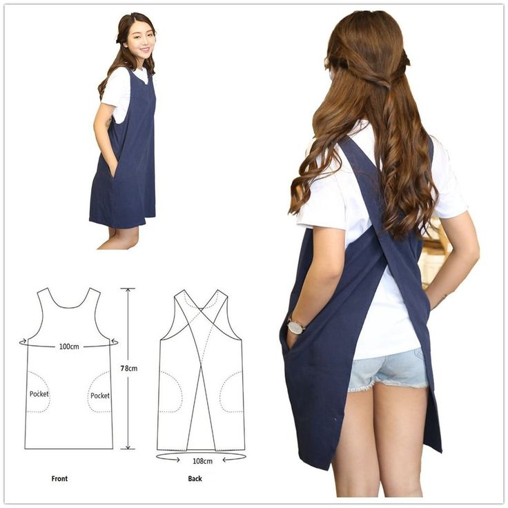 Soft Cotton Linen Apron Solid Color Halter Cross Bandage Aprons Japanese Style X Shape Kitchen Cooking Clothes Gift for Women Chef Housewarming (Navy Blue). EXCELLENT MATERIAL - Soft Cotton Linen,Comfortable and soft,After wearing it will not seem bloated. | eBay!