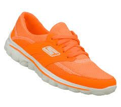 #SKETCHERSThanksPinToWin orange sketchers shoes