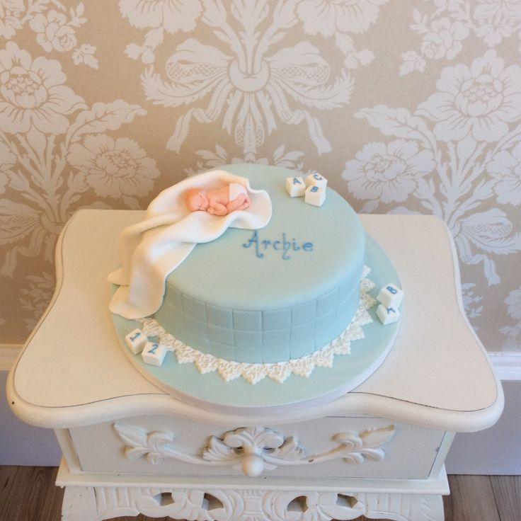 Christening Cake Images Boy