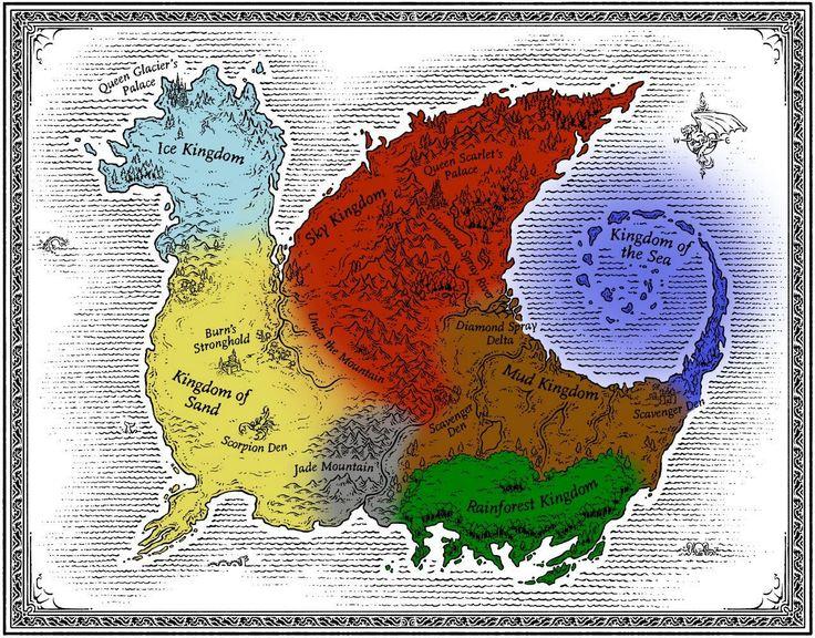 """Résultat de recherche d'images pour """"les royaume de feu carte"""""""