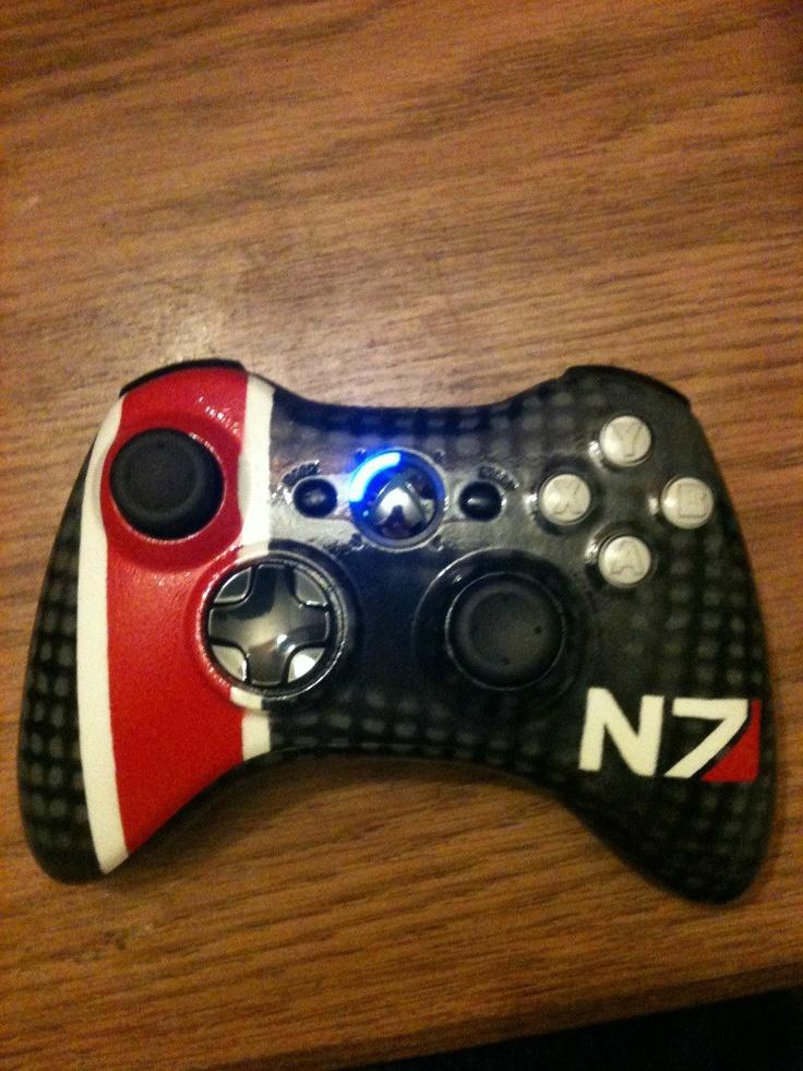 Mass Effect Modded Controller