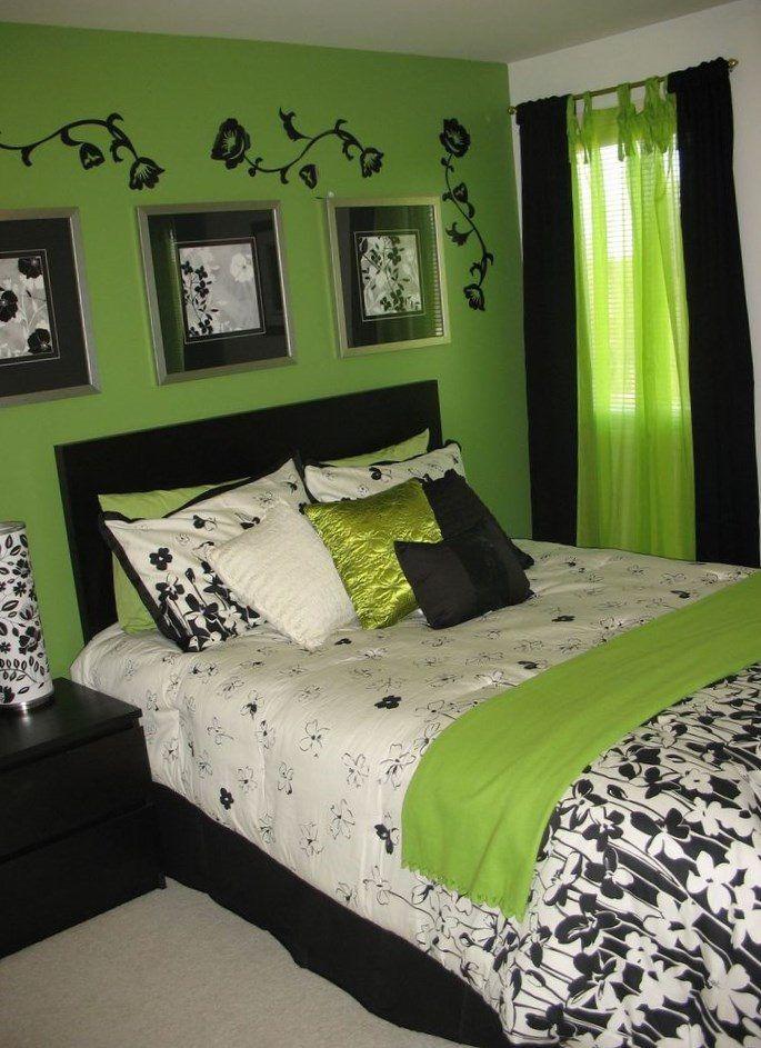 Green bedroom decor - https://bedroom-design-2017.info/style/green-bedroom-decor.html. #bedroomdesign2017 #bedroom