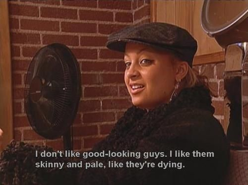 """That time Nicole half-admitted to necrophilia. 