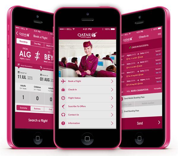 Flight Search App IOS 7 by Yasser Achachi , via Behance