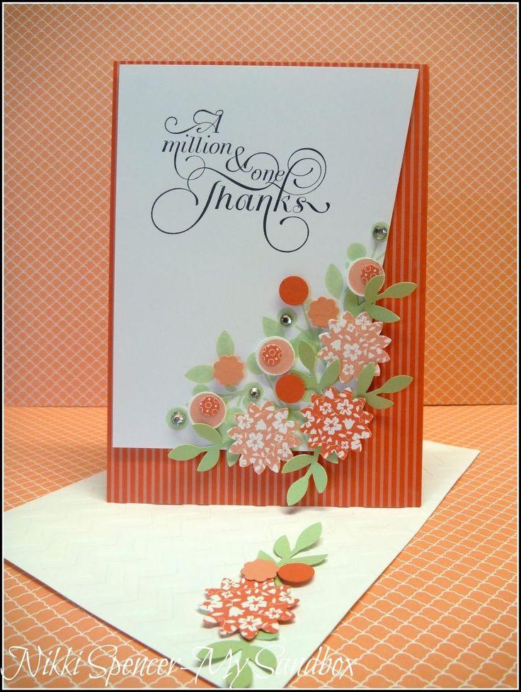 Скрапбукинг открытки с благодарностью