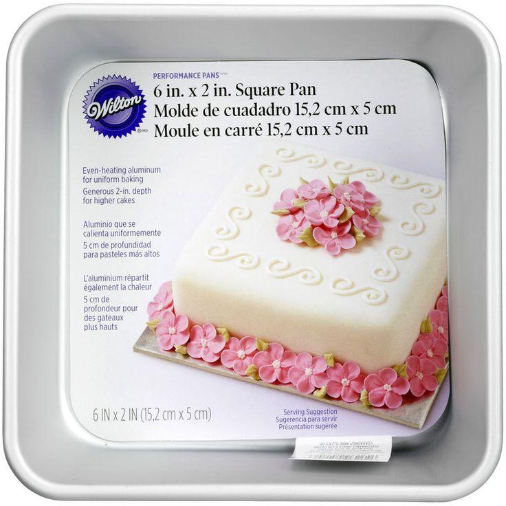 Wilton 174 Performance Pans Square Pan Square Cake Pans