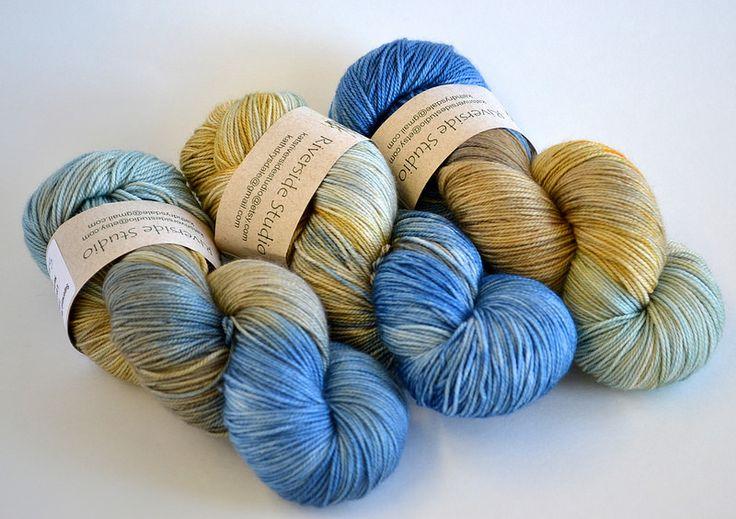 Sea & Sand Merino Cashmere Nylon Sock Yarn