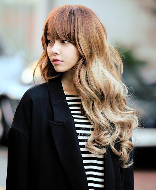 Looks Like A Kpop Star But That Strawberry Blonde Is So Goodddddddddd  Asian