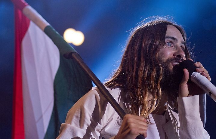 Jared Leto at Volt Festival, Sopron, Hungary