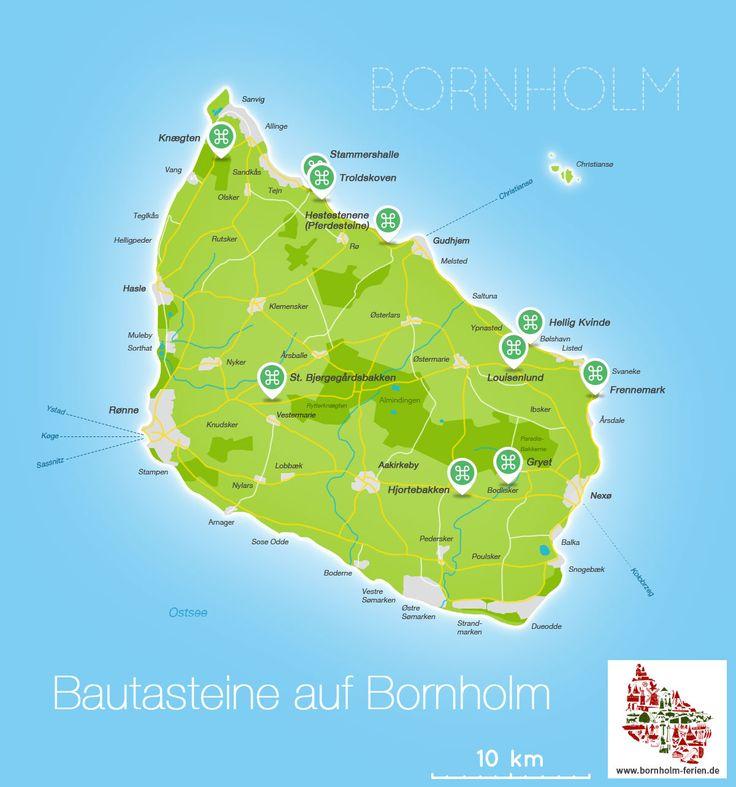 Bautasteine auf Bornholm #Bautasteine #Bornholm #Geschichte #Wikinger