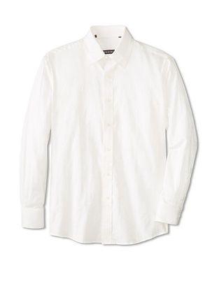 70% OFF Zagiri Men's Thunder and Roses Jacquard Shirt (Natural)