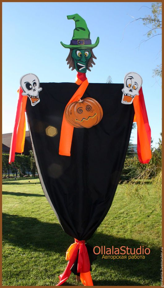 Подарки на Хэллоуин ручной работы. Украшение на Хэллоуин (декорация ). Ollalastudio. Ярмарка Мастеров. Монстры, витрина