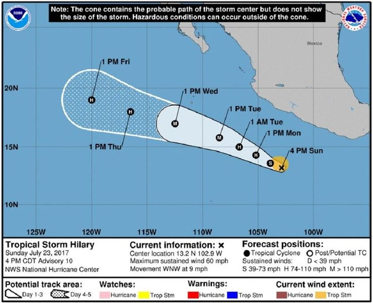 Tropical Storm Hilary expected to become a hurricane #Science #iNewsPhoto