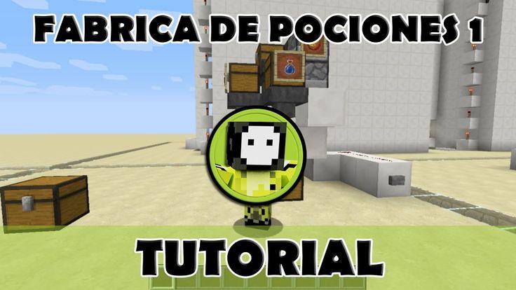 Tutorial Minecraft | Fábrica automática de pociones 1