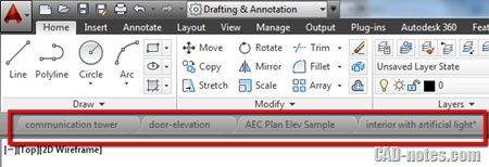 What's new in AutoCAD 2014: The Interface (2)