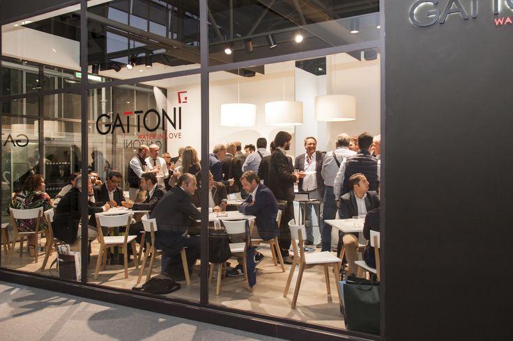 Our stand at Cersaie 2015 #cersaie2015 #waterinlove #design #tap #shower #cocktailparty #Gattoni #GattoniRubinetteria