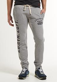 These are £60 Superdry joggers, but if they were plain, I like how they work with unbranded trainers (which I think is the way to go with Howie)