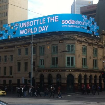 "Activities from Melbourne, Australia - SodaStream is launching a social movement to create an annual ""Unbottle the World"" day on July 16, aimed at rallying support against the dangers of plastic bottle pollution."
